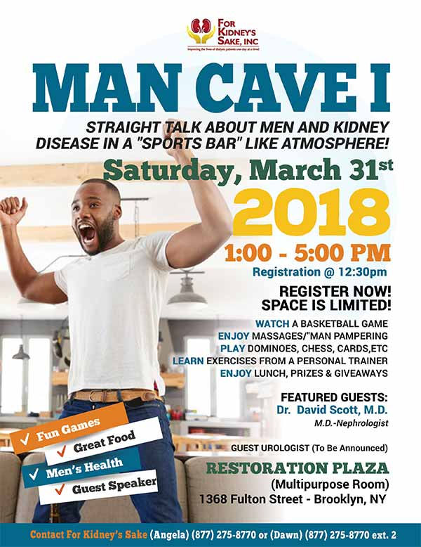 Man Cave Event