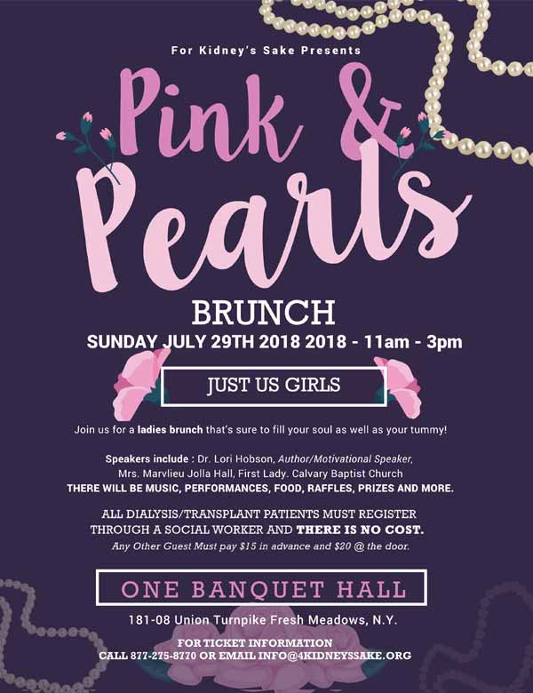 Pink & Pearls Brunch